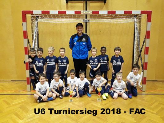 U6 FAC Turniersieger 2018
