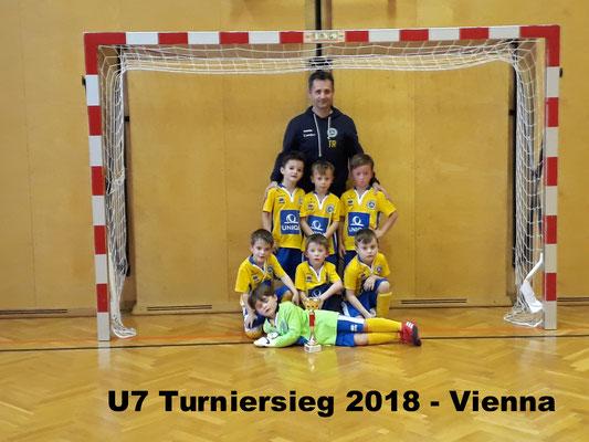 U7 Vienna Turniersieger 2018