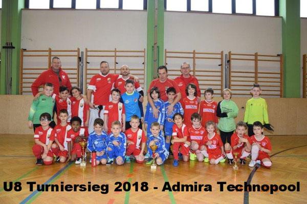 U8 Admira Technopool Turniersieger 2018