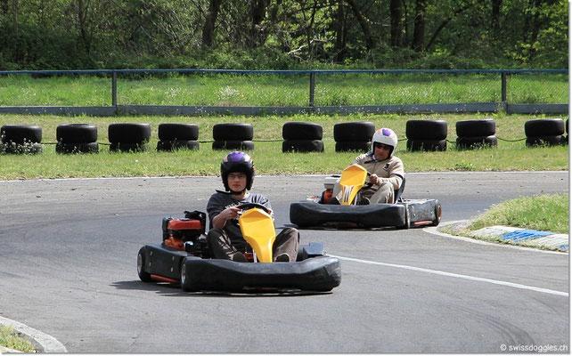 Kart fahren :)