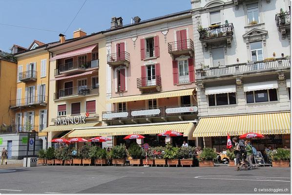 Am Freitag gingen wir nochmals kurz nach Locarno.