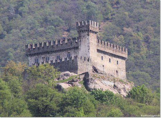 Danach ging's nach Bellinzona, wo wir die drei Schlösser, welche seit 2000 UNESCO Weltkulturerbe sind, besichtigten.