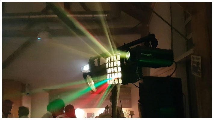 LED-Lichttechnik in Action