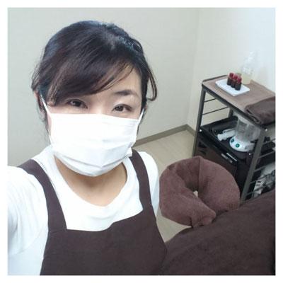 新型コロナウィルス対策 マスクの着用