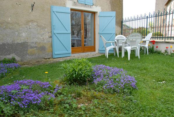 Jardin privée du Gîte