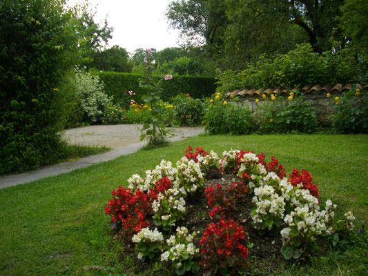 Jardin du gîte près de Verdun