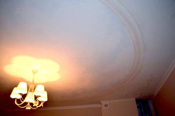 Потолочная роспись фото