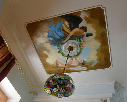 Роспись потолка цена фото