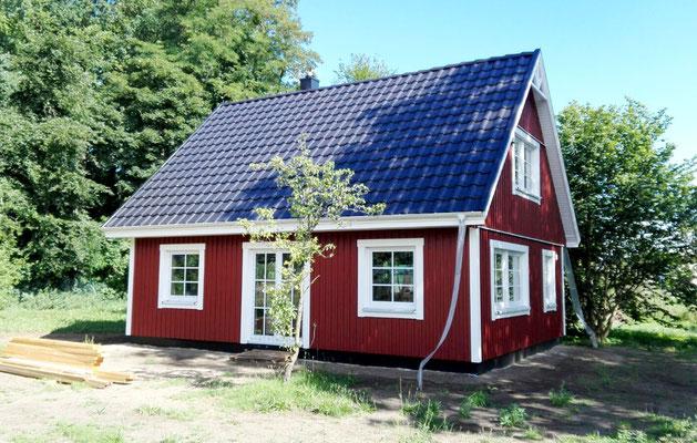 Referenz Nordkap 95 Berg Schwedenhaus auch als Ferienhaus