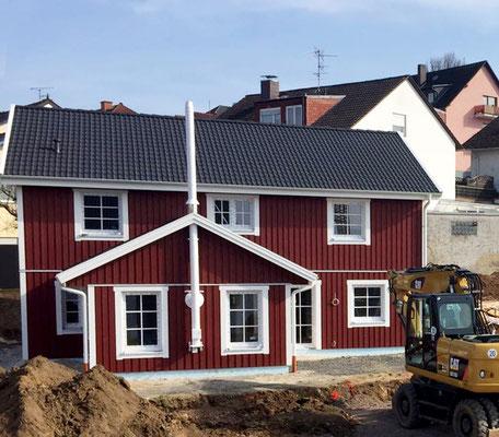 Referenz Nordkap 150 Holzhaus im Schwedischen Stil von Berg