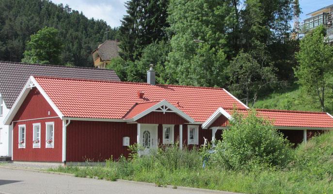 Modell Älmhult 100 Eingangsbereich von Berg-Schwedenhaus