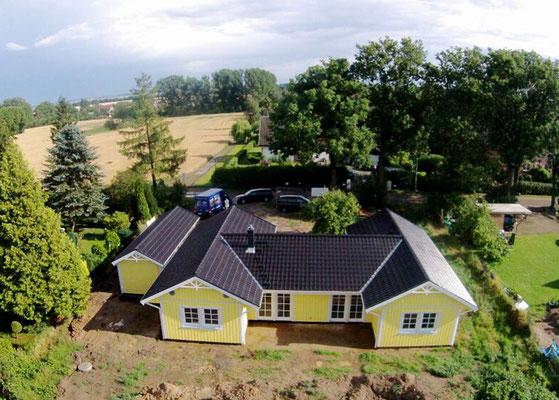 Luftbild von Berg Schwedenhaus Älmhult 130