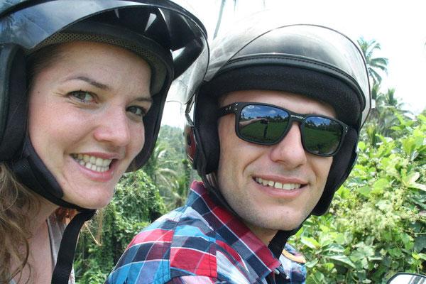 Auf dem Roller durch Ubud