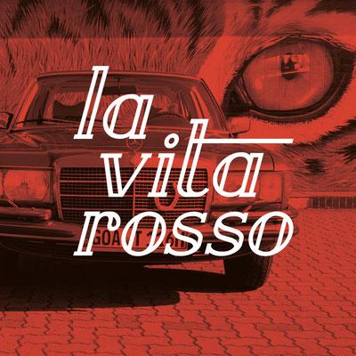 Logodesign la vita rosso