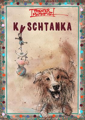 """""""Kaschtanka""""- Theater Mummpitz - Illustration Maria Pfeiffer"""
