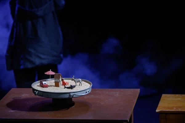 """""""Paula und die Leichtigkeit des Seins"""" - Theater Mummpitz - Bühnenbild M. Pfeiffer - Foto Thomas Riese"""