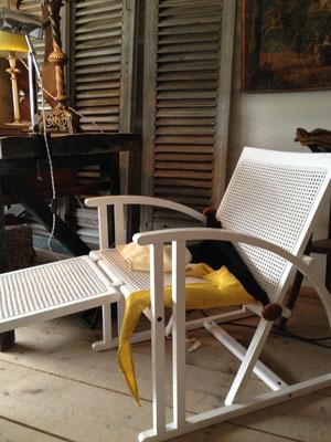 chaise longue de pascal Mourgue, persiennes
