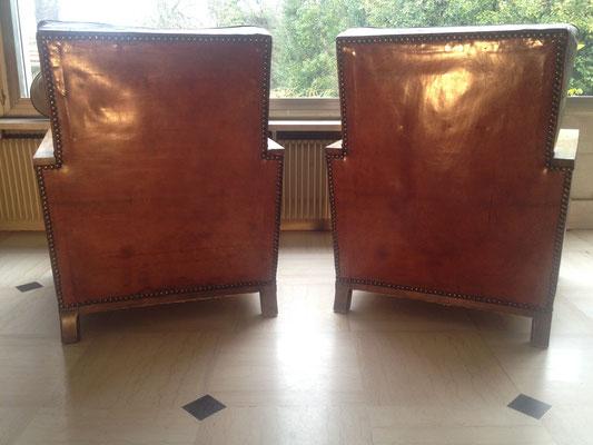 paire de fauteuil club