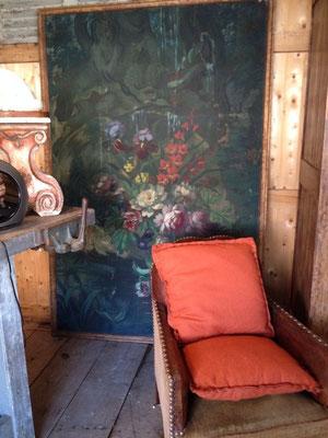 huile sur toile décorative bouquet de fleurs