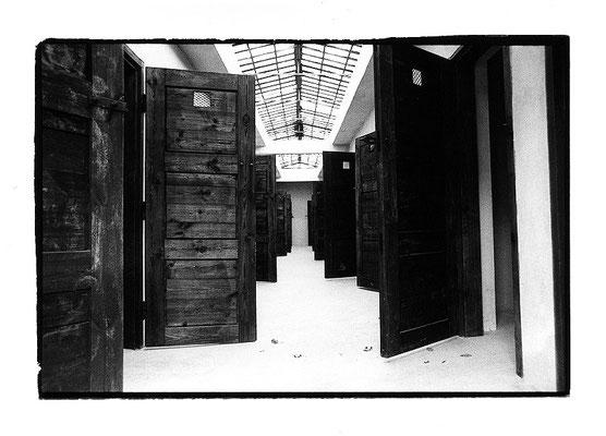 """Tschechien, KZ Theresienstadt """"alle fort..."""""""