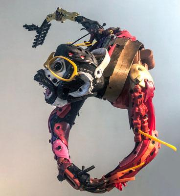 Serie MONOS / Esculturas hechas con material reciclado / DISPONIBLE