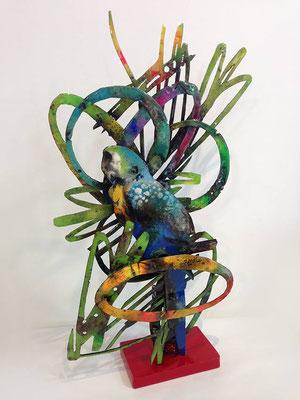 Serie NATURALEZA / Esculturas hechas con metal reciclado / DISPONIBLE