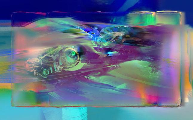 Acrílico sobre lienzo / 2.50 x 1.50 mts / DISPONIBLE