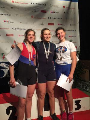 Siegerehrung: 2. Platz für Luise Bachmann
