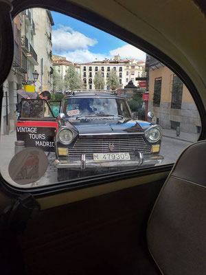 seat 1500 taxi tour madrid