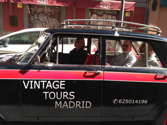 vintage tour madrid