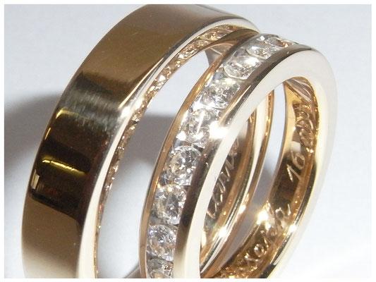 Eheringe, Trauringe in Gold und Silber