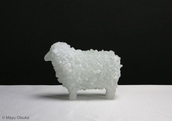ちいさい羊 H8xW12xD5(cm)2014年