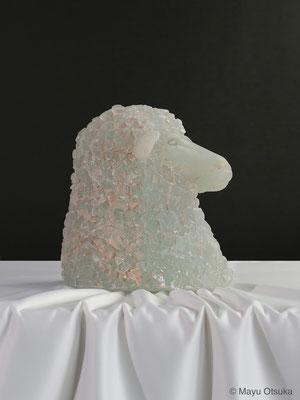 羊の肖像 H28xW26xD26(cm)2014年