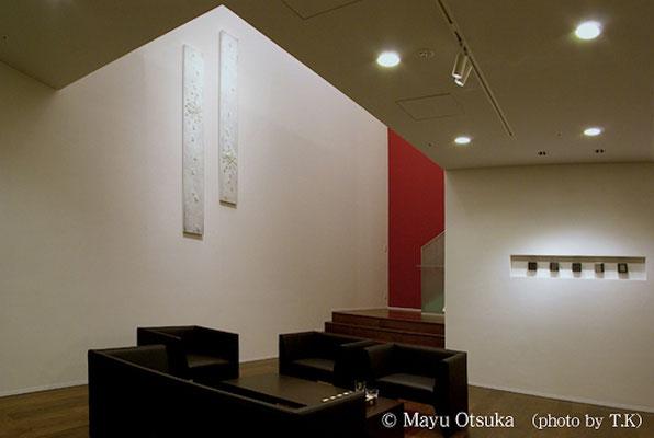 北新宿マンションパーティールーム壁面作品 2点制作 2012年