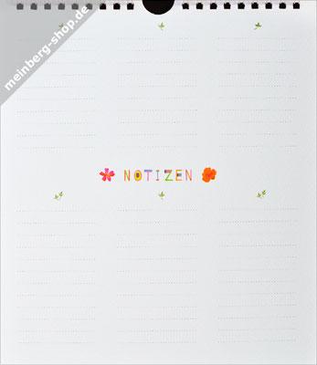 Kalender Notizblatt