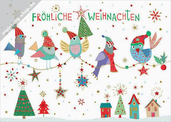 Eulenast Weihnachten Postkarte