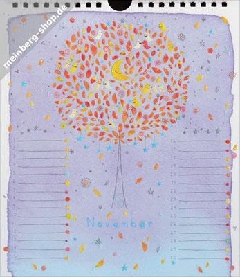 Kalendermonat November Baum