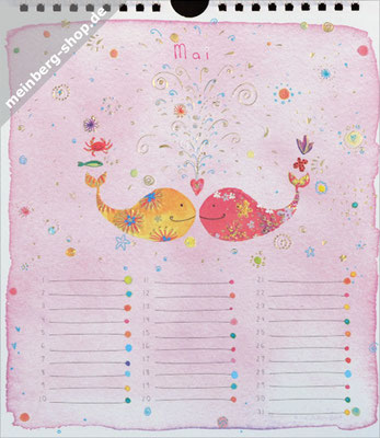 Kalendermonat Mai Wale