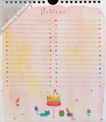 Notizblatt 1 Kuchen