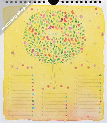 Kalendermonat Juni Baum