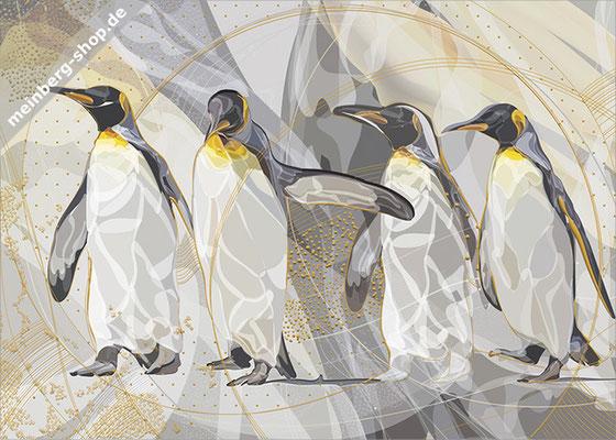Pinguine Postkarte