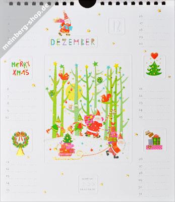 Kalendermonat Dezember Winterwald