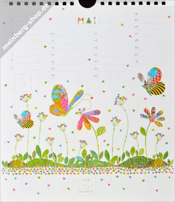 Kalendermonat Mai Schmetterlinge