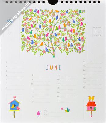 Kalendermonat Juni Vogelbaum