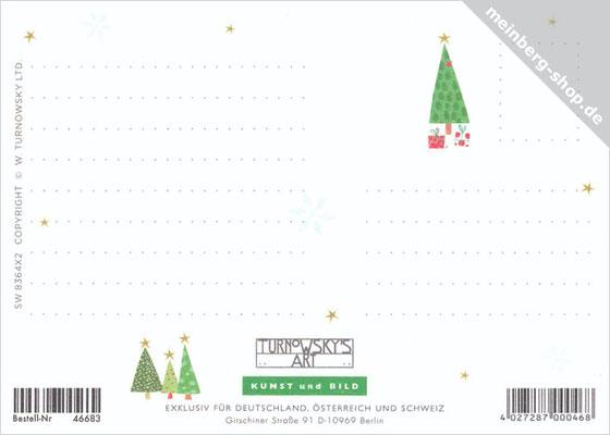 Weihnachtsdorf Rückseite