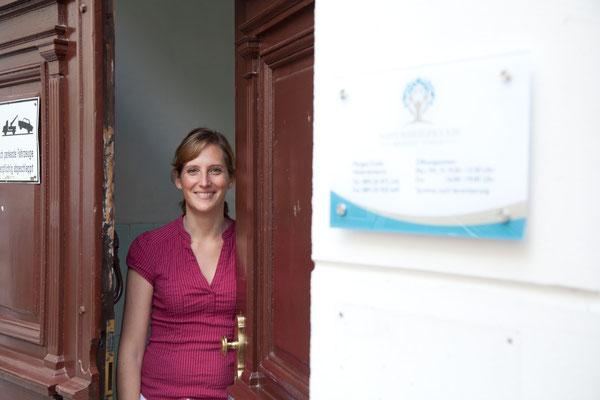 Main door medical practice, München