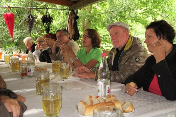 Kulturkreis Vellberg, Kunst und Kulisse, Beim Fischereiverein