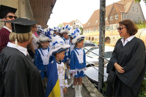 Kulturkreis Vellberg  Weinbrunnenfest 2015  Lügenrat
