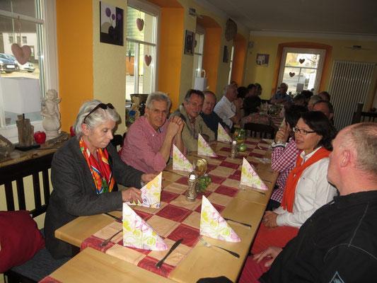 Kulturkreis Vellberg, Betriebsbesichtigung, Klafs - Saunabau in Schwäbisch Hall, März 2014