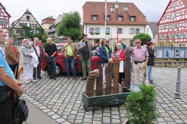 Kulturkreis Vellberg, Kunst und Kulisse, Objekt von Lisa Hopf